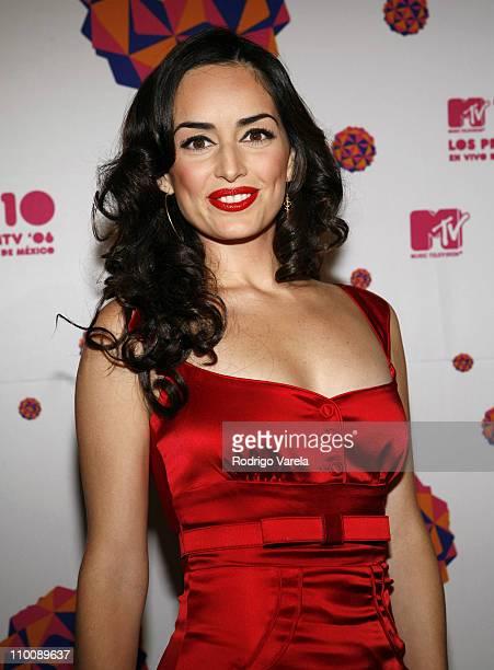Ana de la Reguera during MTV Video Music Awards Latin America 2006 - Red Carpet at Palacio de los Deportes in Mexico City, Mexico.
