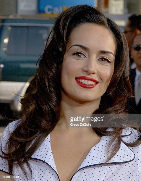 Ana de la Reguera during Nacho Libre World Premiere Arrivals at Grauman's Chinese Theatre in Hollywood California United States