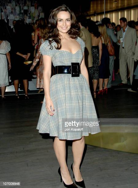 Ana de la Reguera during Prada Celebrates the Los Angeles Opening of Waist Down Skirts By Miuccia Prada in Beverly Hills California United States
