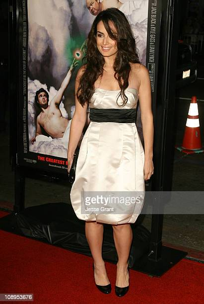 Ana de la Reguera during Tenacious D In the Pick of Destiny Los Angeles Premiere Arrivals at Grauman's Chinese Theater in Hollywood California United...