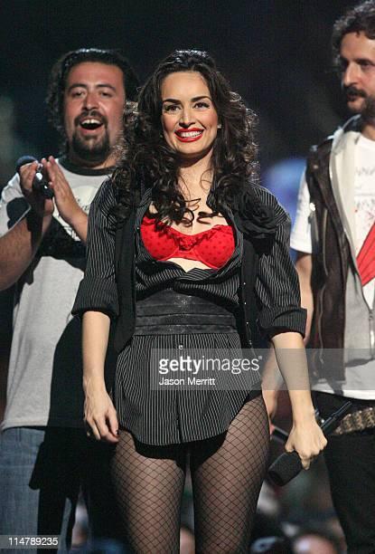 Ana de la Reguera host during MTV Video Music Awards Latin America 2006 Show at Palacio de los Deportes in Mexico City Mexico