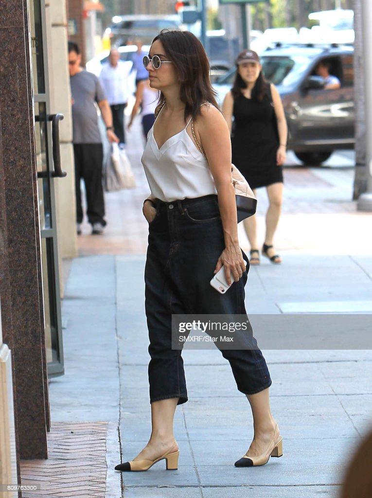 Celebrity Sightings In Los Angeles - July 5, 2017 : News Photo