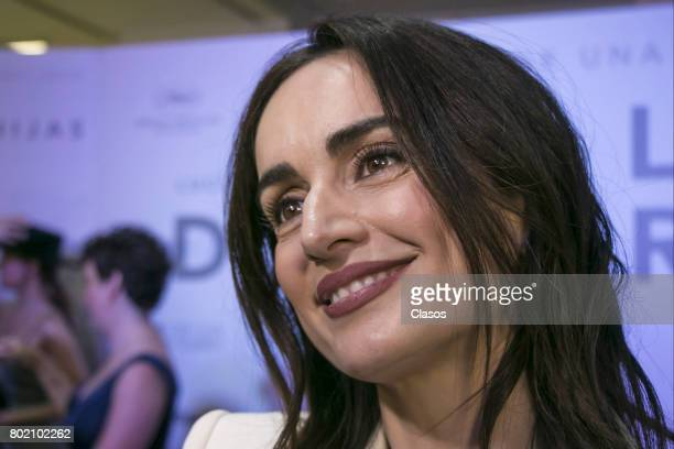 Ana de la Reguera looks on during the premiere of the movie 'Las Hijas de Abril' at Cinepolis Carso on June 20 2017 in Mexico City Mexico