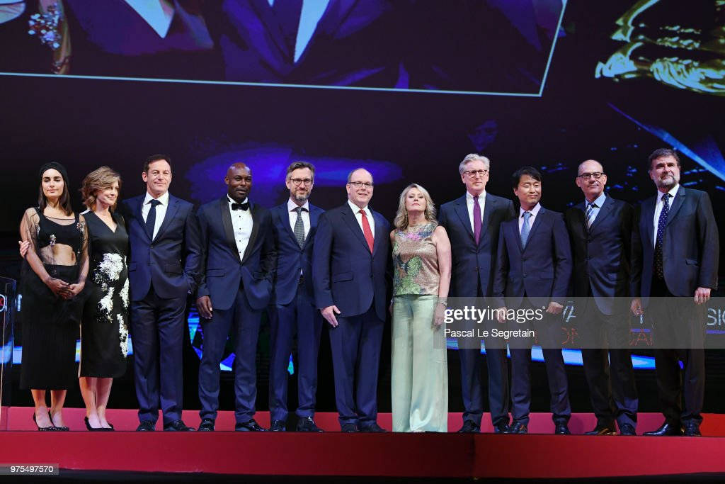 Opening Ceremony - 58th Monte Carlo TV Festival : News Photo