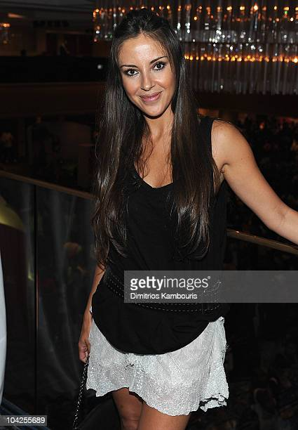 Ana De Los Riscos attends People En Espanol Celebrates Hispanic Heritage Month With Festival 2010 at Marriot Marquis on September 18 2010 in New York...