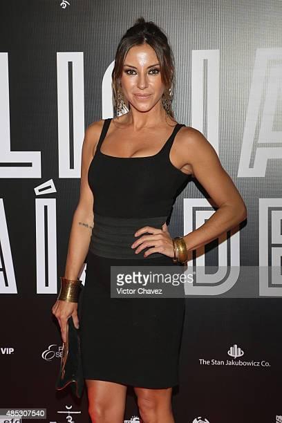 Ana de los Riscos attends the 'Alicia En El Pais De Maria' Mexico City premiere red carpet at Cinepolis Plaza Carso on August 26 2015 in Mexico City...