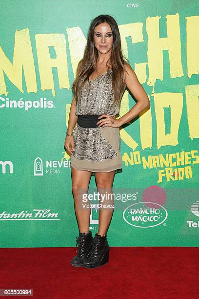 Ana de los Riscos attends the 'No Manches Frida' Mexico City premiere at Cinepolis Plaza Universidad on September 13 2016 in Mexico City Mexico