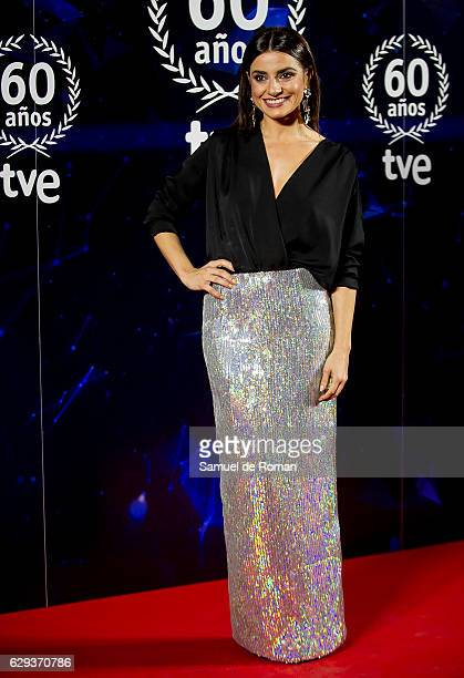 Ana del Rey atteds to '60 Anos Juntos' TVE Gala Photocall on December 12 2016 in Madrid Spain