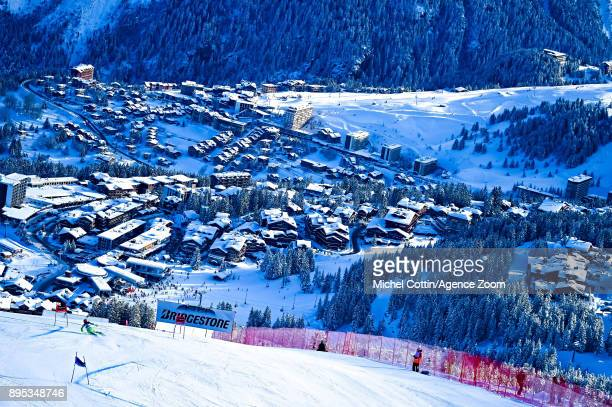 Ana Drev of Slovenia in action during the Audi FIS Alpine Ski World Cup Women's Giant Slalom on December 19 2017 in Courchevel France