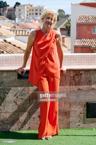 Ana Duato attends 20th season of 'Cuentame Como Paso' presentation at the Larios Hotel on March 20 2019 in Malaga Spain