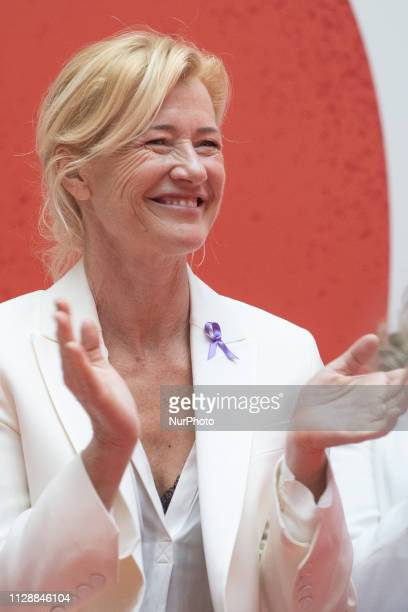 Ana Duato attends the delivery of recognitions March 8 on the occasion of Women's Day in Madrid Spain March 6 2019