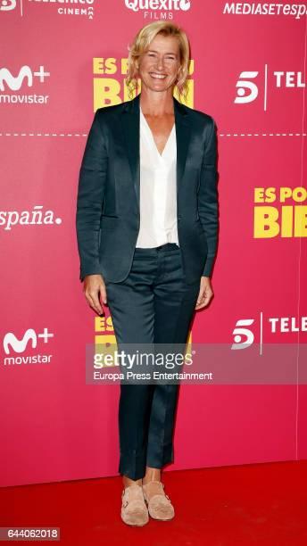 Ana Duato attends the 'Es por tu bien' premiere at Capitol cinema on February 22 2017 in Madrid Spain