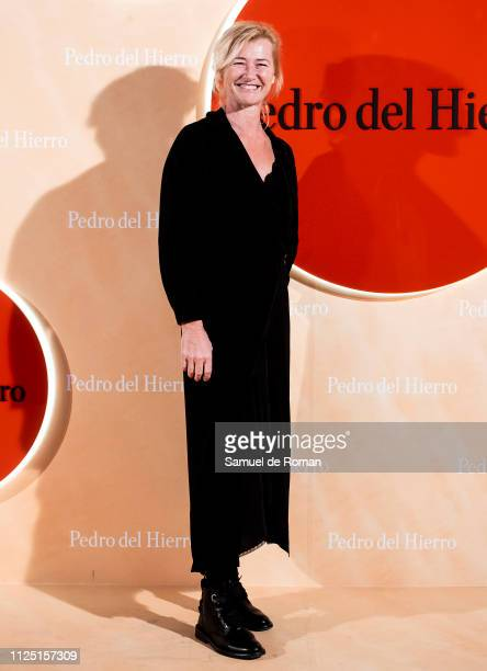 Ana Duato attends the Pedro Del Hierro fashion show during the Mercedes Benz Fashion Week Autumn/Winter 20192020 on January 26 2019 in Madrid Spain