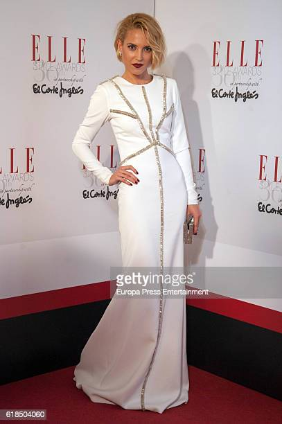 Ana Fernandez attends 'Elle Magazine' Awards 30th Anniversary at Circulo de Bellas Artes on October 26 2016 in Madrid Spain