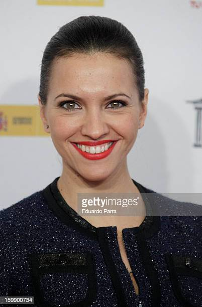 Ana Fernandez attends Jose Maria Forque awards photocall at Canal theatre on January 22 2013 in Madrid Spain