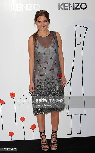Ana Fernandez attends 'Kenzo' party at the Canal de Isabel II Foundation on June 15 2010 in Madrid Spain