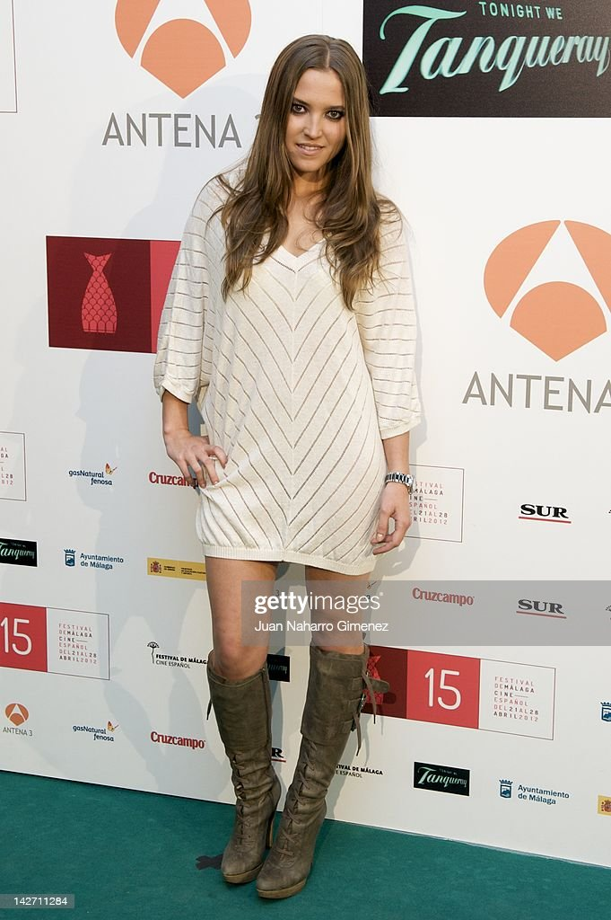Ana Fernandez attends Malaga Film Festival 2012 cocktail presentation at Real Fabrica de Tapices on April 11, 2012 in Madrid, Spain.