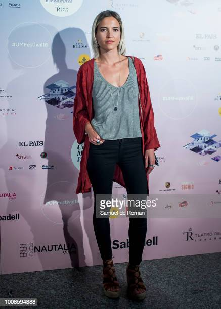 Ana Fernandez attends Pablo Alboran concert in Madrid on July 31 2018 in Madrid Spain
