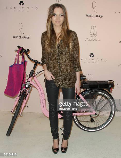 Ana Fernandez attends Pretty Ballerinas photocall party at Ramses bar on March 20 2013 in Madrid Spain