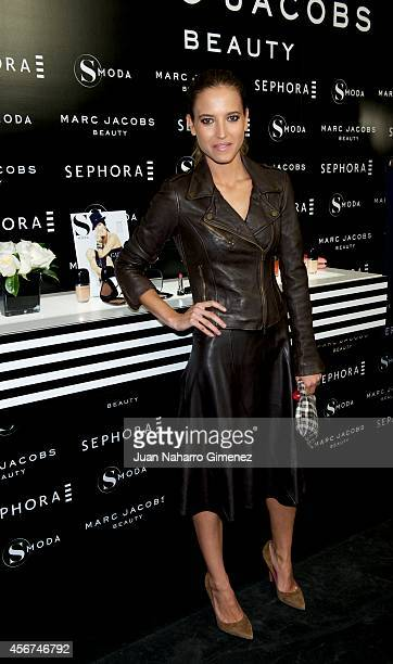 Ana Fernandez attends 'Sephora Loves Marc Jacobs' party at Sephora store on October 6 2014 in Madrid Spain