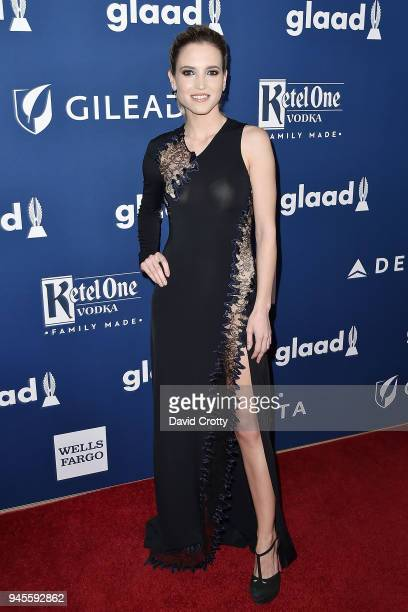 Ana Fernandez attends the 29th Annual GLAAD Media Awards Arrivals at The Beverly Hilton Hotel on April 12 2018 in Beverly Hills California