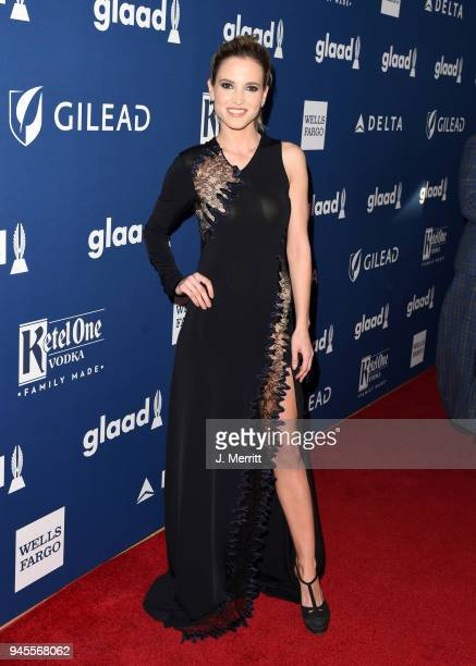 Ana Fernandez attends the 29th Annual GLAAD Media Awards at The Beverly Hilton Hotel on April 12 2018 in Beverly Hills California