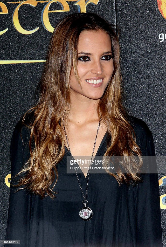 Ana Fernandez attends the premiere of 'The Twilight Saga: Breaking Dawn - Part 2' (La Saga Crepusculo: Amanecer- Parte 2) at kinepolis Cinema on November 15, 2012 in Madrid, Spain.