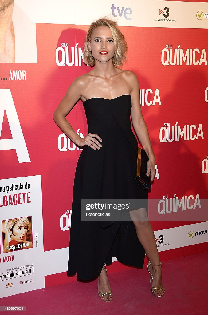 Ana Fernandez attends the 'Solo Quimica' Premiere at Palafox Cinema on July 14, 2015 in Madrid, Spain.