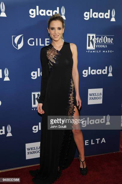 Ana Fernandez celebrates achievements in LGBTQ community at the 29th Annual GLAAD Media Awards Los Angeles in partnership with LGBTQ ally Ketel One...