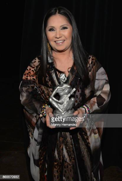 Ana Gabriel at the 5th Annual Latin Songwriters Hall Of Fame's La Musa Award at James L Knight Center on October 19 2017 in Miami Florida