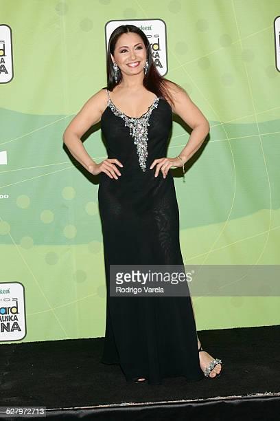 Ana Gabriel during 2005 Billboard Latin Music Awards Press Room at Miami Arena in Miami Florida United States