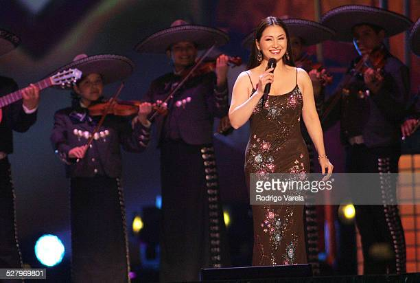 Ana Gabriel during Selena iVIVE Tribute Concert Show at Reliant Stadium in Houston Texas United States