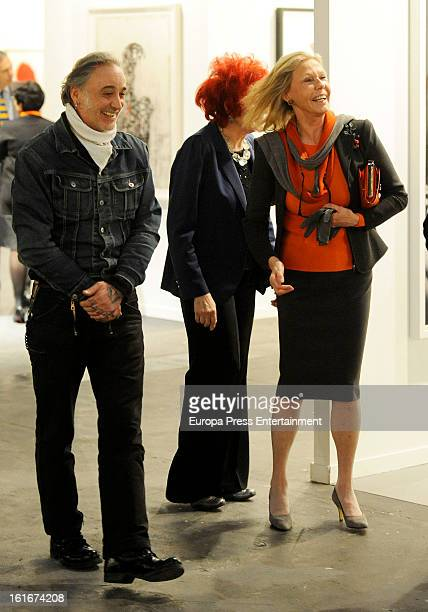 Ana Gamazo attends International Contemporary Art Fair ARCO 2013 on February 13 2013 in Madrid Spain