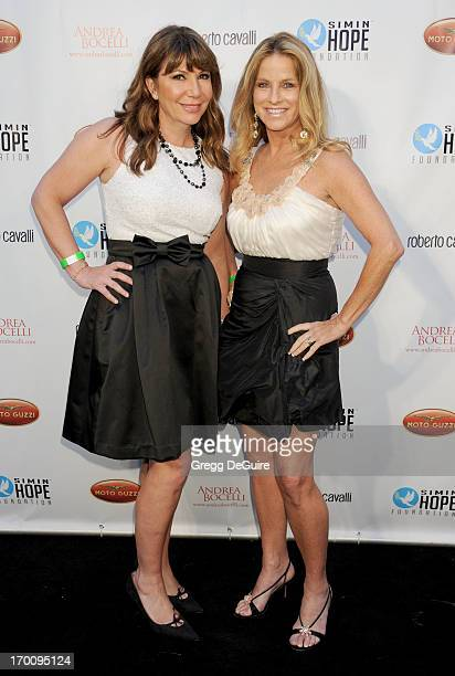 Ana Garcia and Dorothy Lucey arrive at the Celebration Of All Fathers Gala dinner at Paramount Studios on June 6 2013 in Hollywood California