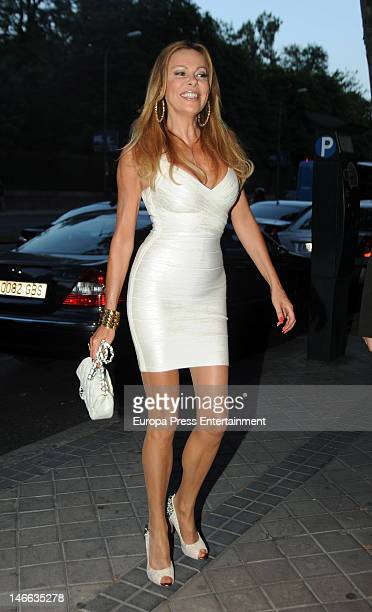 Ana Garcia Obregon attends her mother Ana Obregon's birthday on June 7 2012 in Madrid Spain