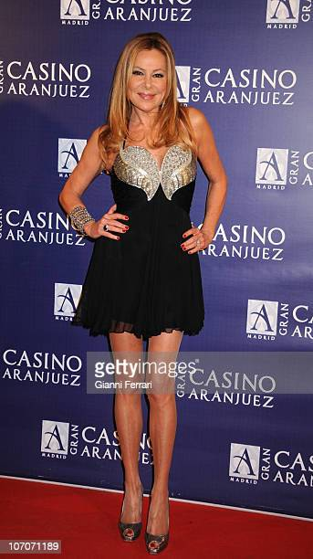 Ana Garcia Obregon attends the Toni Salazar concert at Gran Casino de Aranjuez on November 19 2010 in Madrid Spain