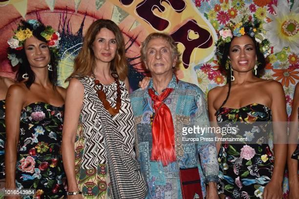 Ana Garcia Siñeriz attends Flower Power VIP Party on August 13 2018 in Ibiza Spain