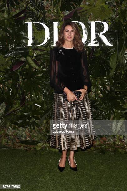 Ana Garcia Sineriz attends Dior Ball photocall at the Santona Palace November 22 2017 in Madrid Spain