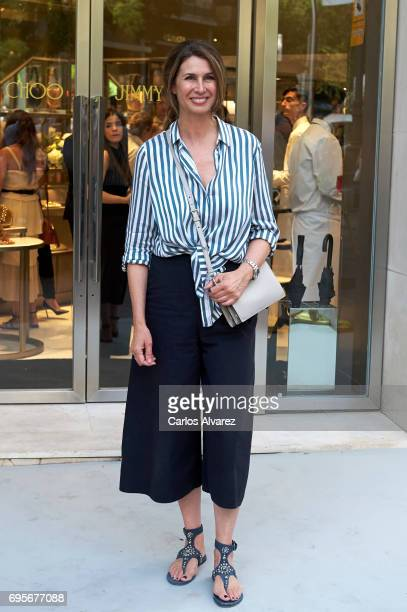 Ana Garcia Sineriz attends the Jimmy Choo Boutique reopening on June 13 2017 in Madrid Spain
