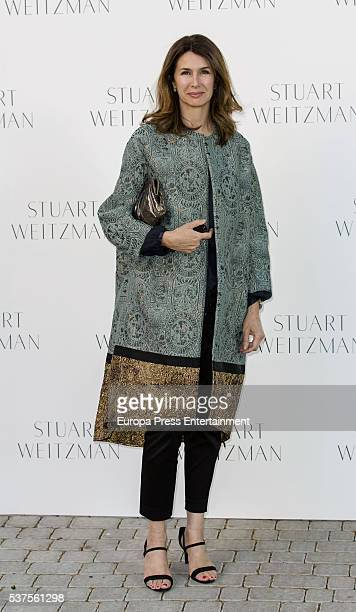 Ana Garcia Sineriz attends the Stuart Weitzman cocktail party at the USA Ambassador's Residence on June 1 2016 in Madrid Spain