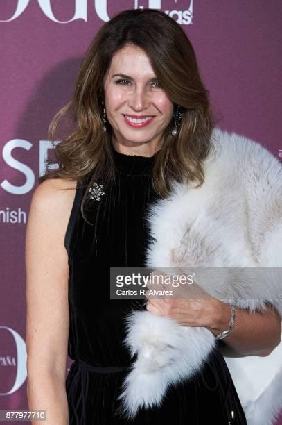 Ana Garcia Sineriz attends the 'Vogue Joyas' awards 2017 at the Santona Palace on November 23 2017 in Madrid Spain