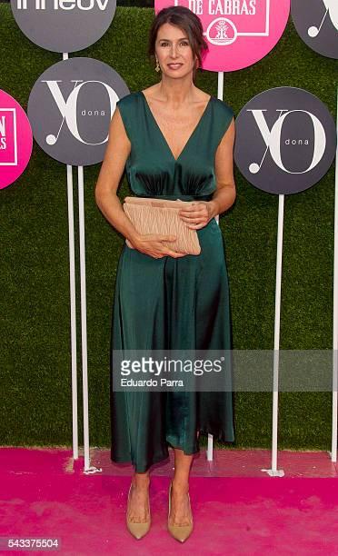 Ana Garcia Sineriz attends the 'Yo Dona' international awards at La Quinta de la Munoza on June 27 2016 in Madrid Spain