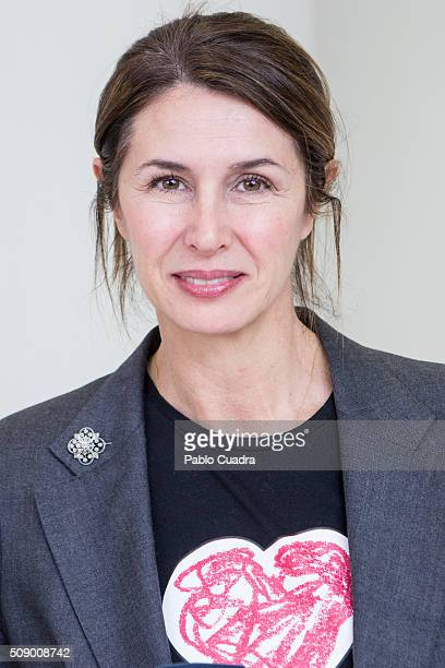 Ana Garcia Sineriz presents the charity jewels collection 'Emociones' by Menuos Corazones foundation on February 8 2016 in Madrid Spain