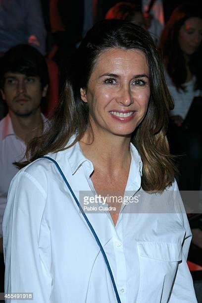 Ana Garzia Sineriz attends Mercedes Benz Fashion Week Madrid at Ifema on September 15 2014 in Madrid Spain