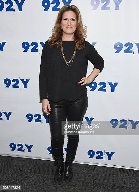 Ana Gasteter attends Samantha Bee In Conversation With Ana Gasteyer at 92nd Street Y on February 4 2016 in New York City