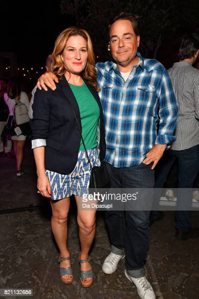 Ana Gasteyer and Charlie McKittrick at Entertainment Weekly's annual Comic-Con party in celebration of Comic-Con 2017 at Float at Hard Rock Hotel San...