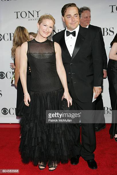 Ana Gasteyer and Charlie McKittrick attend 60th Annual Tony Awards Arrivals at Radio City Music Hall on June 11, 2005 in New York City.