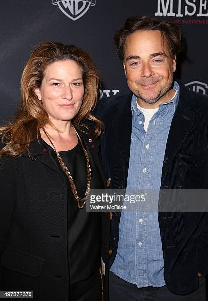 Ana Gasteyer and Charlie McKittrick attend the Broadway Opening Night Performance of 'Misery' at the Broadhurst Theatre on November 15, 2015 in New...