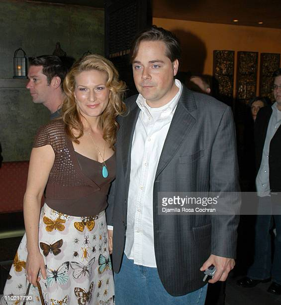 """Ana Gasteyer and Charlie McKittrick during """"Reefer Madness"""" Hosted by Showtime Network - After Party at Tao at Tao in New York City, New York, United..."""