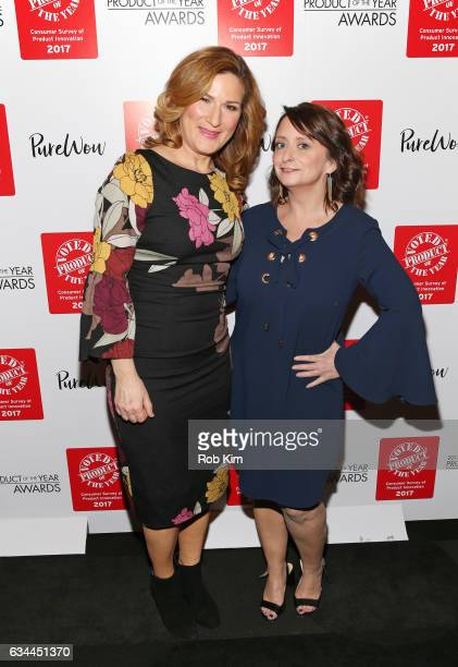 Ana Gasteyer and Rachel Dratch attend the 2017 Product Of The Year Awards at The Edison Ballroom on February 9 2017 in New York City